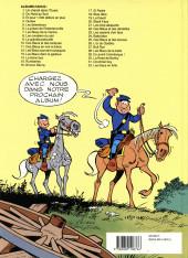 Verso de Les tuniques Bleues -19b91- Le David