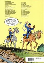 Verso de Les tuniques Bleues -21a1992a- Les cinq salopards