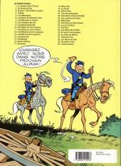 Verso de Les tuniques Bleues -28a1992- Les bleus de la balle
