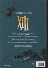 Verso de XIII -HS09- XIII Le grand livre des énigmes