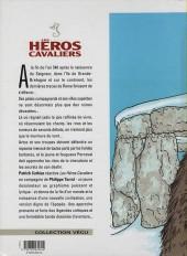 Verso de Les héros cavaliers -3b00- Mark de cornwall