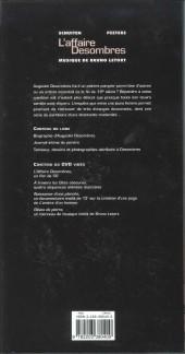Verso de Les cités obscures -H12- L'affaire Desombres