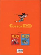 Verso de Cotton Kid -3- Z comme Sorro