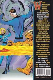 Verso de Essential Fantastic Four (1999) -INT01b- Fantastic four vol.1