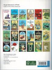 Verso de Tintin (The Adventures of) -4e- Cigars of the Pharaoh