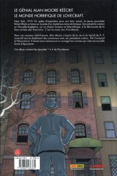 Verso de Providence (Moore) -1- La peur qui rôde