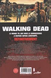 Verso de Walking Dead -25- Sang pour sang