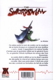 Verso de Swordsman (The) -9- Tome 9