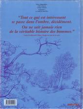 Verso de La croix de Cazenac -2- L'Ange endormi