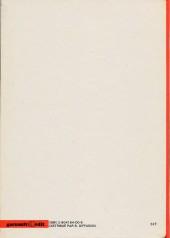 Verso de Zorry Kid -1- Z comme Zorry Kid