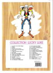 Verso de Lucky Luke -30e14- Calamity jane