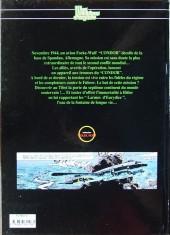 Verso de Les héritiers d'Orphée -1- Le vol du condor