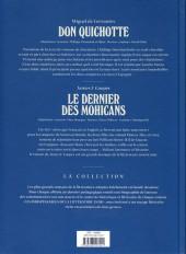 Verso de Les indispensables de la Littérature en BD -FL12- Don Quichotte / Le Dernier des Mohicans