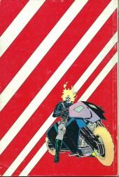 Verso de Ghost Rider (Semic) -Rec01- Album N°1 (du n°1 au n°3)