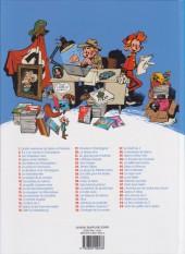 Verso de Spirou et Fantasio -1e2014- 4 aventures de Spirou ...et Fantasio