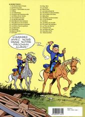 Verso de Les tuniques Bleues -25a1993- Des bleus et des bosses