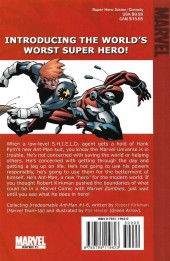 Verso de Irredeemable Ant-Man (The) (2006) -INT01- Low-Life