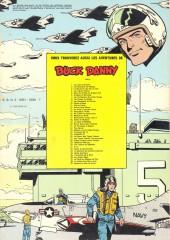 Verso de Buck Danny -2c1976- Les mystères de Midway