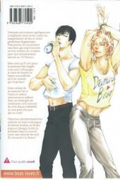 Verso de 10 Dance -2- Tome 2