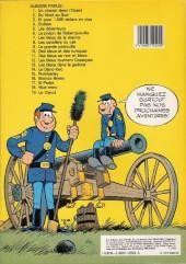 Verso de Les tuniques Bleues -12a1983- Les Bleus tournent cosaques