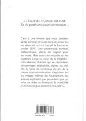 Verso de L'esprit du 11 janvier - L'Esprit du 11 janvier - Une enquête mythologique