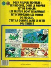 Verso de Les tristus et les Rigolus - La planète du fou rire