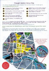 Verso de (Catalogues) Éditeurs, agences, festivals, fabricants de para-BD... -2015ANG- Thought Bubble: The Leeds Comic Art festival