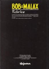 Verso de Fabrice