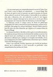 Verso de Tintin - Divers - Le mystère Tintin : Les raisons d'un succès universel
