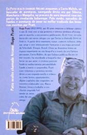 Verso de (AUT) Pratt, Hugo (en espagnol) -ESP- Corto maltés patio oculto chamado arcano