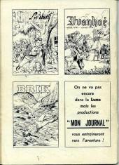 Verso de Akim (1re série) -81- L'île en flammes