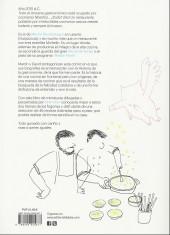 Verso de Martín Berasategui y David de Jorge
