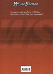 Verso de Wayne Shelton -7ES- La lance de longinus