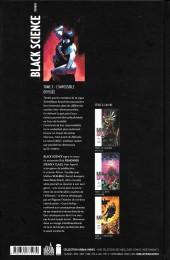 Verso de Black Science -3- L'Impossible Odyssée