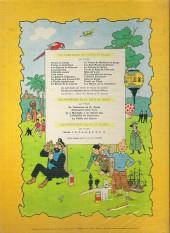 Verso de Jo, Zette et Jocko (Les Aventures de) -5B35- La vallée des cobras
