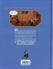 Verso de Spectaculaires (Une aventure des) -1- Le Cabaret des Ombres