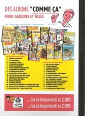 Verso de Pat et Moune (La vache qui médite) -17- Attention au feu / l'arbre aux 40 écus