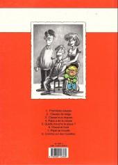 Verso de Cédric -1a1994- Premières classes