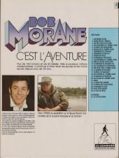 Verso de Bob Morane 3 (Lombard) -33Pub- Les chasseurs de dinosaures