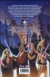 Verso de Star Wars - L'Ordre Jedi -2- Actes de guerre