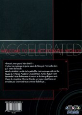 Verso de Accel World -4- Tome 4