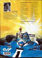Verso de Michel Vaillant -14f1999- Mach 1 pour Steve Warson