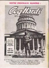 Verso de Coq Hardi (1e Série) -7- Un haut lieu de l'Histoire des U.S.A. : Fort Sutter