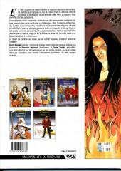 Verso de Les chemins de Malefosse -1b1990- Le diable noir