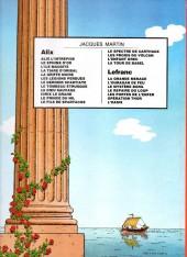 Verso de Alix -9a1981- Le Dieu sauvage