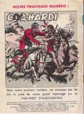 Verso de Coq Hardi (1e Série) -9- Le Far-West d'aujourd'hui (suite)
