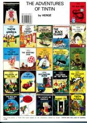 Verso de Tintin (The Adventures of) -8b89- King Ottokar's sceptre