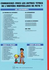 Verso de Johan et Pirlouit -1e- Le châtiment de Basenhau