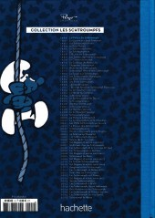 Verso de Les schtroumpfs - La collection (Hachette) -2Bis- La flûte à six schtroumpfs