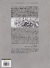 Verso de La mémoire des arbres -10- La Tchalette